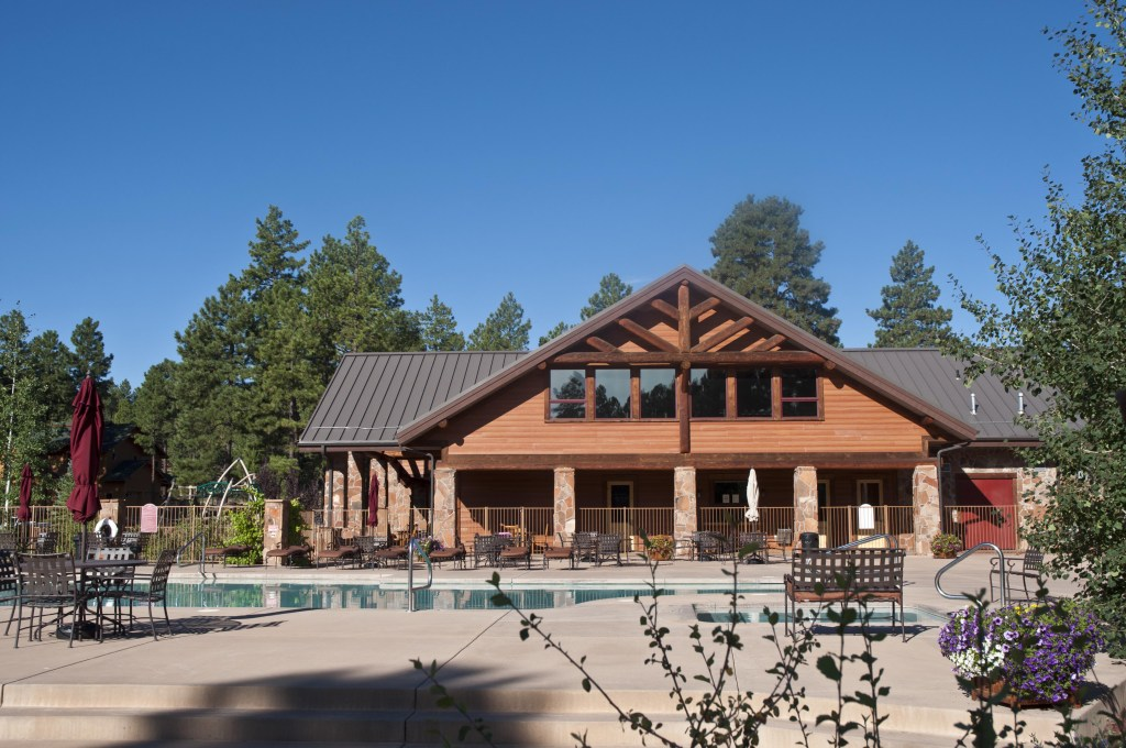 The Community Center and Pool at Flagstaff Ranch